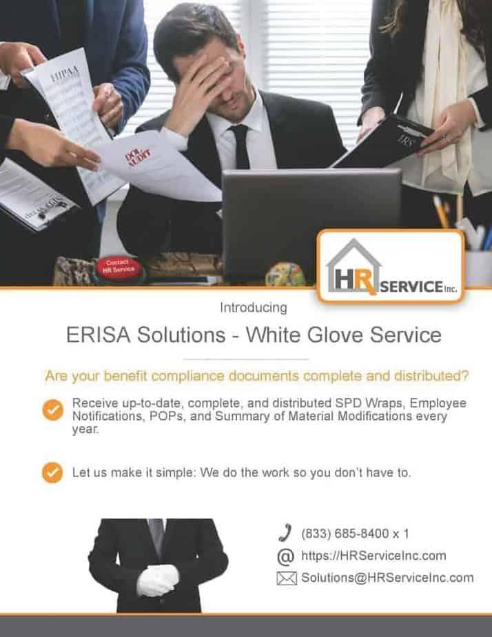 White Gloves - ERISA Compliance 2020